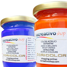 Colori acrilici, Acrilici IoCreativoShop 130ml