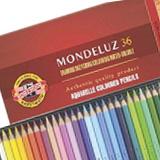 Matite colorate, pastelli, Koh-I-Noor Mondeluz confezioni