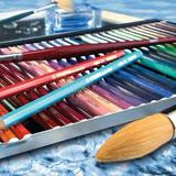 Matite colorate, pastelli, Matite per principianti
