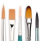 Pennelli, Pennelli per colori acrilici