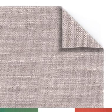 Tela per dipingere in rotoli e tela a metraggio, Tela Grezza, Puro Lino 350gr, Grana Medio/fine