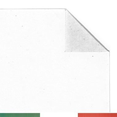 Tela per dipingere in rotoli e tela a metraggio, Tela Pronta, Cotone 250gr, Grana Extra Fine