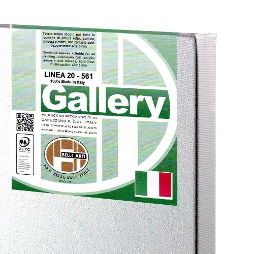 Tele per pittura pronte Pieraccini Gallery linea 20