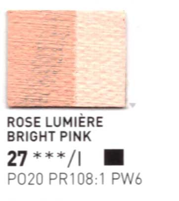 027 Rosa pastello  - Colore a olio Pebeo Studio XL 200ml Grande