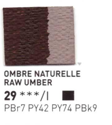 029 Terra d'ombra naturale - Colore a olio Pebeo Studio XL 200ml Grande
