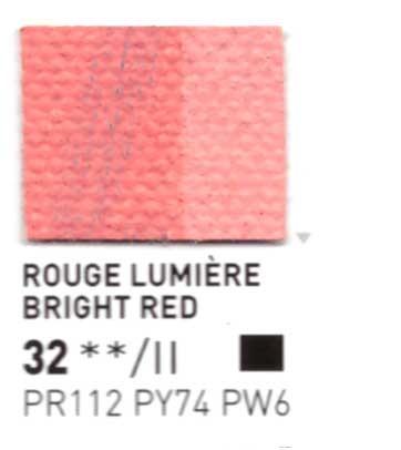 032 Rosso pastello - Colore a olio Pebeo Studio XL 200ml Grande