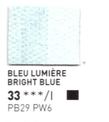 033 Blu pastello - Colore a olio Pebeo Studio XL 200ml Grande