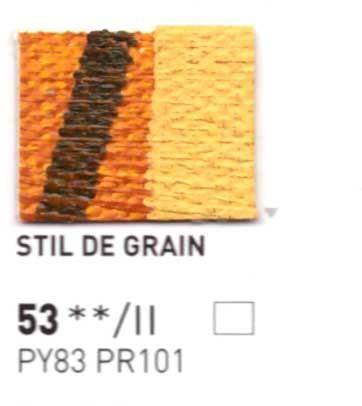 053 Stil de grain - Colore a olio Pebeo Studio XL 200ml Grande