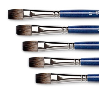 pennelli per acquerello pelo vajo sintetico offerta