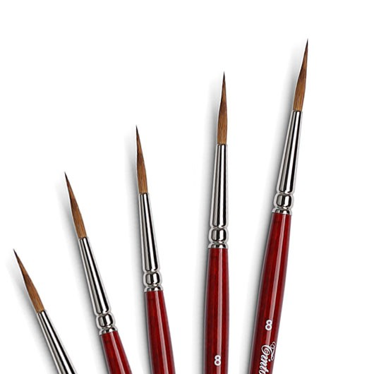 martora kolinsky pennelli ceramica pennelli per decorazione