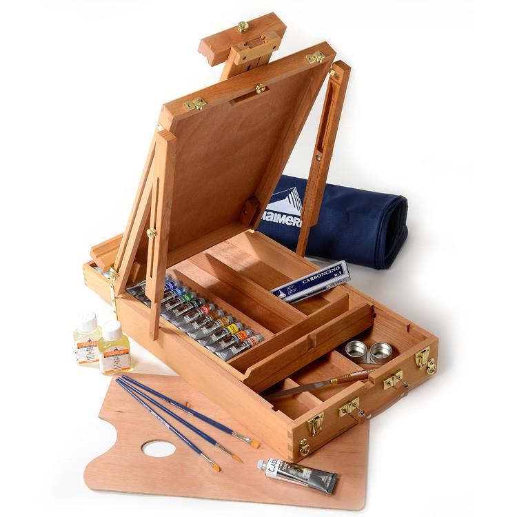 cassetta cavalletto superior colori ad olio maimeri classico offerte prezzi comprare