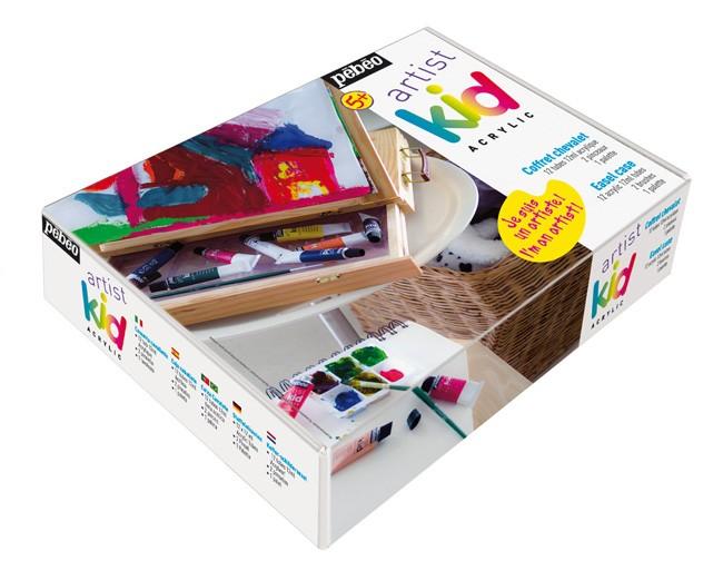 Offerta cassetta colori acrilici per bambini pebeo kids cassetta cavalletto colori acrilici per - Colori per camera bambini ...