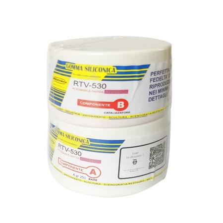 Offerta gomma siliconica extra rapida prochima rtv 530 for Gomma siliconica prochima