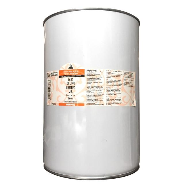 Olio di lino, Maimeri offerta stock 5000ml