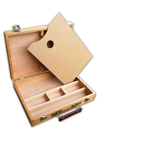 cassetta portacolori vuota, comprare online cassetta portacolori prezzi cassetta portacolori per artisti per pittori