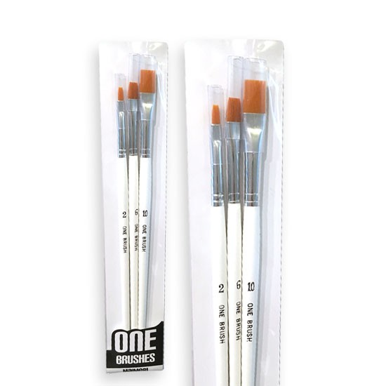 pennelli onebrush per colori acrilici, prezzi pennelli, comprare