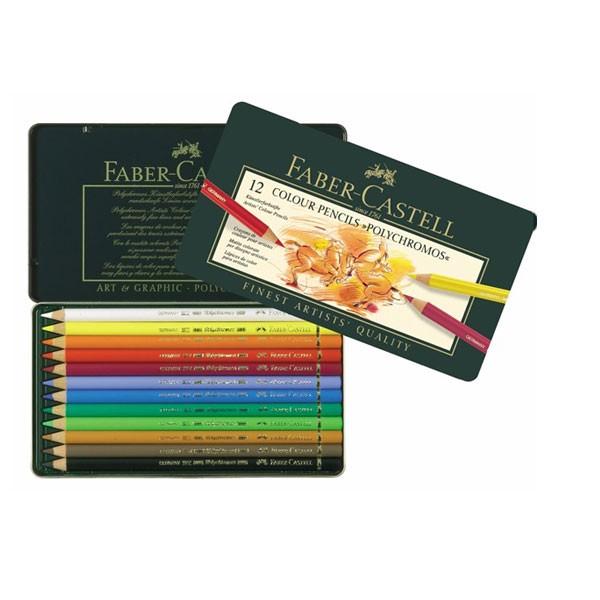 offerta polychromos confezione in metallo 12 matite