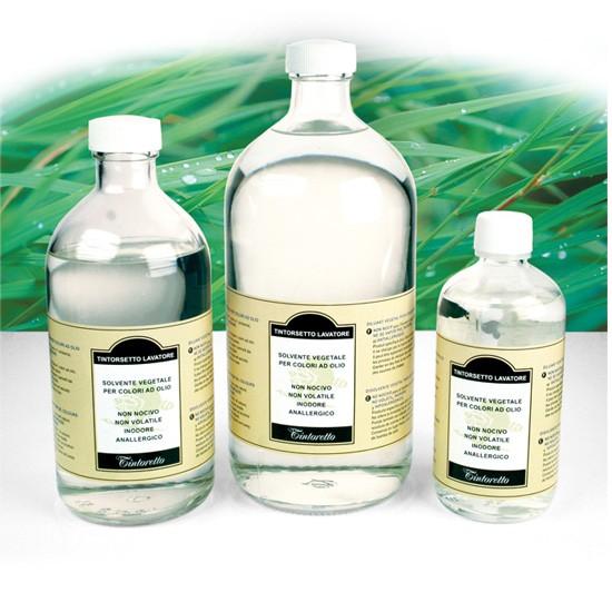 Tintorsetto, diluente ecologico, diluente a base vegetael, solvente a base vegetale per colori a olio