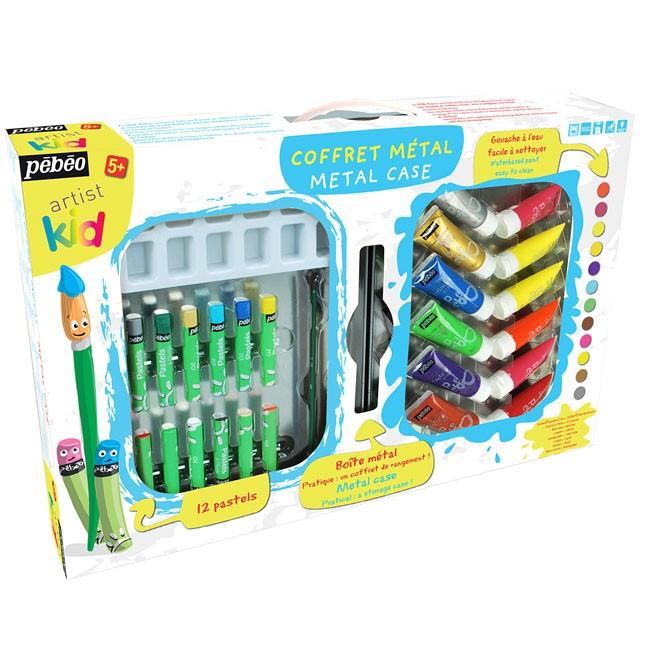 Favorito OFFERTA Colori a tempera lavabile per bambini, valigetta  ET25