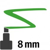 18 Verde scuro - 8mm pennarello acrilico Pebeo Marker 4Artist