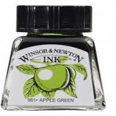 11 Verde mela - Inchiostro Winsor e Newton 14ml