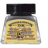 Argento (non indelebile) - Inchiostro Winsor e Newton 14ml