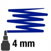 011 Blu profondo - 4mm pennarello acrilico Pebeo Marker 4Artist