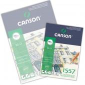 Blocco Canson 1557 Disegno, collato, 30 fogli, 180gr/mq, form. A4