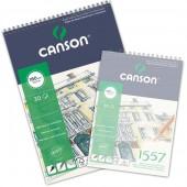 Blocco Canson 1557 Disegno, spiralato, 30 fogli, 180gr/mq, form. A3
