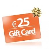 25 Buono regalo Gift Card comprare buono regalo