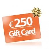 250 Buono regalo Gift Card comprare buono regalo