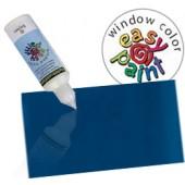 386 blu marino 80ml - Easy Paint colori per vetro attacca stacca