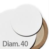 40 cm Tele per dipingere ROTONDE prezzi tele pittura rotonde
