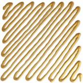 137 Contorno Oro chiaro - Idea Vetro rilievo Finto Piombo