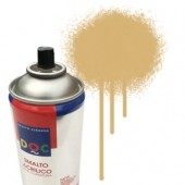 55001 Beige  - Colore spray acrilico DocTrade bombetta 400ml colore acrilico spray brillante e coprente