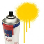 55019 Giallo  - Colore spray acrilico DocTrade bombetta 400ml colore acrilico spray brillante e coprente