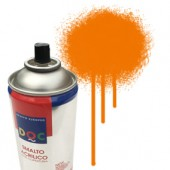 55035 Arancio  - Colore spray acrilico DocTrade bombetta 400ml colore acrilico spray brillante e coprente