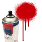 55040 Rosso - Colore spray acrilico DocTrade bombetta 400ml colore acrilico spray brillante e coprente
