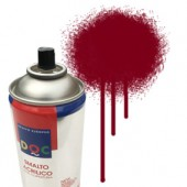 55045 vino rosso Colore spray acrilico DocTrade bombetta 400ml colore acrilico spray brillante e coprente