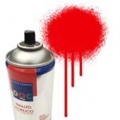 55056 Rosso - Colore spray acrilico DocTrade bombetta 400ml colore acrilico spray brillante e coprente