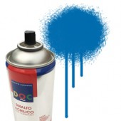 55085 Blu  - Colore spray acrilico DocTrade bombetta 400ml colore acrilico spray brillante e coprente