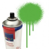55112 Verde  - Colore spray acrilico DocTrade bombetta 400ml colore acrilico spray brillante e coprente