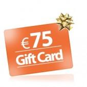 75 Buono regalo Gift Card comprare buono regalo