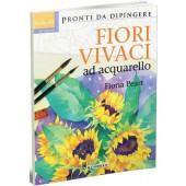 Libro Pronti da dipingere Fiori vivaci ad acquarello - Il Castello Editore