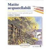 Libro Matite acquarellabili, imparare a creare dipinti bellissimi - Il Castello Editore