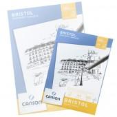 Blocco Bristol Canson, Grana liscia, 20 fogli 180g, A4 cm 21x29,7