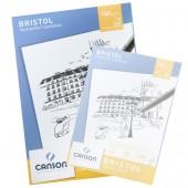 Blocco Bristol Canson, Grana liscia, 20 fogli 180g, A3 cm 29,7x42