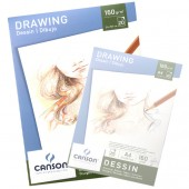 Blocco Disegno Canson, Grana fine, 20 fogli 160g, A3 cm 29,7x42