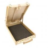 Cassetta Cavalletto in legno per pittura, Daler Rowney Wooden
