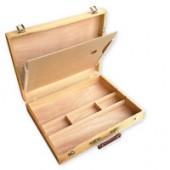 Cassetta portacolori in legno per pittori, modello Atelier